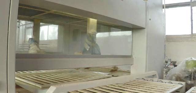 Lakierowanie drewna z maszynami Makor z frimy ITA